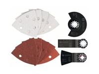Оснастка для многофункциональных инструментов (реноваторов)