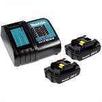Аккумуляторы и зарядные устройства Makita