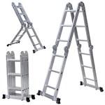Шарнирные лестницы-трансформеры 4-х секционные