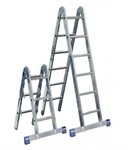 Шарнирные 2-х секционные лестницы