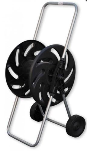 """Тележка для шланга на колесиках 1/2"""" 80 метров (металл+ пластик), BRADAS (Италия)"""