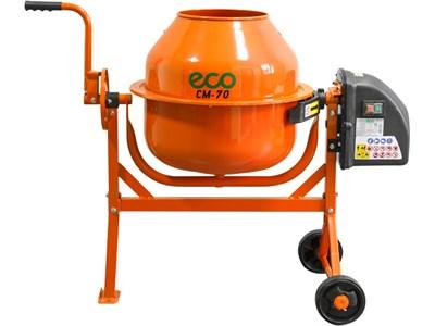 Бетоносмеситель ECO CM-70 (объем 70/50 л, 380 Вт, 230 В, вес 24 кг)
