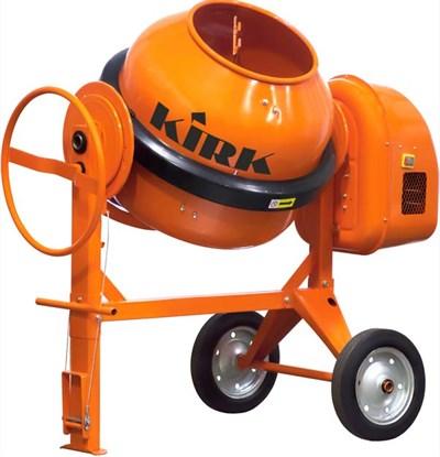 Бетоносмеситель KIRK HCM920 (260 л, 1800Вт/380В, 135 кг, трехфазный, профессиональный)