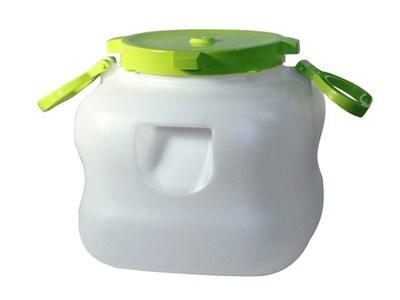 Бак 20 литров с крышкой и ручками для жидкостей