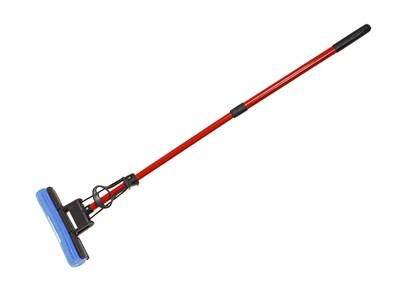 Швабра отжимная, PERFECTO LINEA (Телескопическая рукоятка 67-120 см) - фото 14184