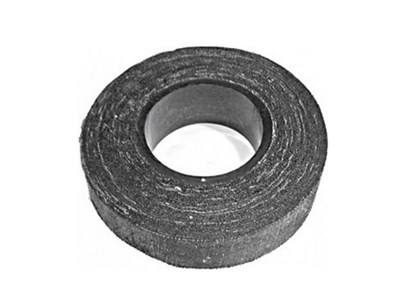 Изолента хлопчатобумажная черная, 20 мм х 21 метр, 200 г.