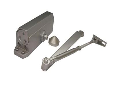 Доводчик дверной гидравлический GRAND F-65 (20- 85кг) серебро