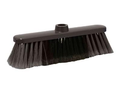 Щетка для уборки мусора ЛЮКС (серая) - фото 14765