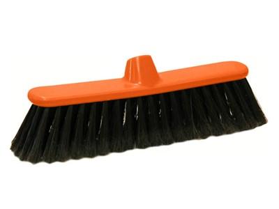 Щетка для уборки мусора КЛАССИК (оранжевая)