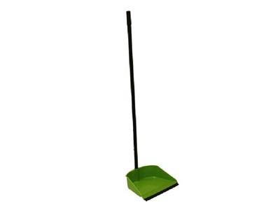 Совок с высокой ручкой ЛЕНИВКА (зеленый) - фото 14781