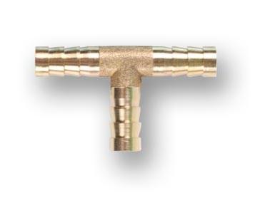 Соединение елочка 8 мм Т-образное (латунь) ECO - фото 14942