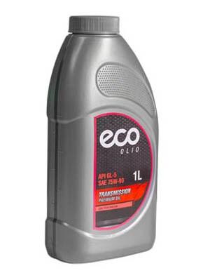 Масло трансмиссионное полусинтетич. SAE 75W-90 ECO 1 л - фото 15053