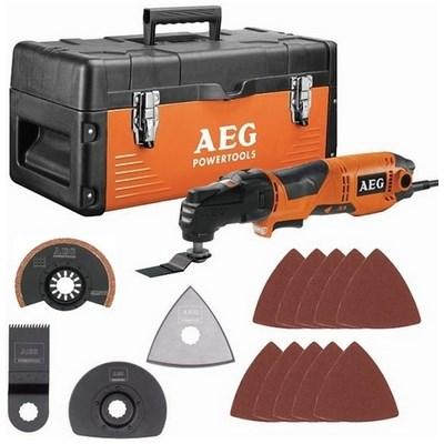 Многофункциональный инструмент AEG OMNI 300 KIT 5 (300 Вт +кейс + 14 насадок)