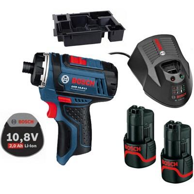 Аккумуляторный шуруповерт BOSCH GSR 10,8-Li GSR 10,8-Li Professional 1.3 А/ч