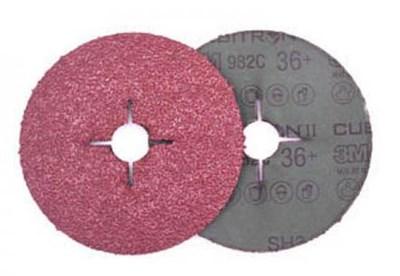 Фибровый шлифкруг 125х22 мм P80 3M 982С 3M - фото 16908
