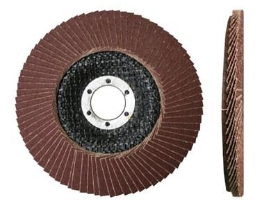 Круг лепестковый 125х22 мм, плоский КЛТ1, P24-P180