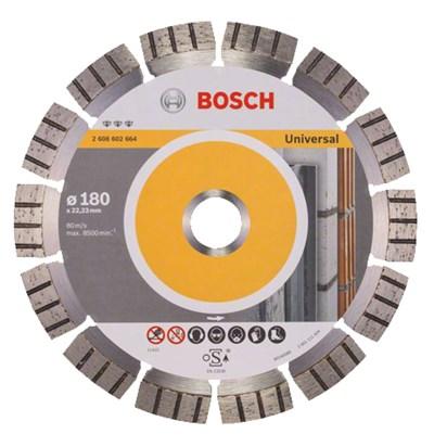 Алмазный круг 180х22 универсальный (BOSCH)