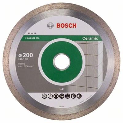 Алмазный круг 200х25,4 мм по керамике Best (BOSCH)