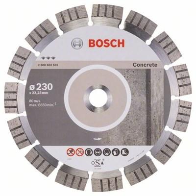 Алмазный круг 230х22,23 мм бетон Best (BOSCH)