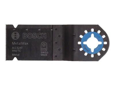 Пильное полотно BOSCH HM AIZ 32 AT, Metal Max 40x32 мм (металл, абразивные материалы)