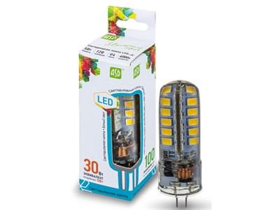 Лампа светодиодная JC 5 Вт 12В G4 4000К ASD (4690612004662)