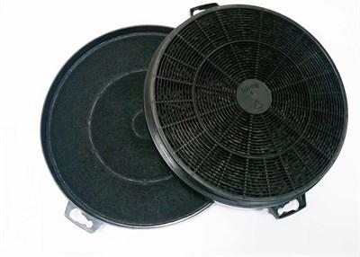 Комплект 2 шт. фильтров угольных D 198 мм для кухонной вытяжки вытяжки универсальный