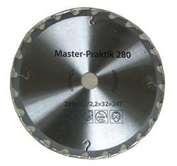 Диск пильный Ø280x30 мм, 24 зуба (с твердоспл. напайками)