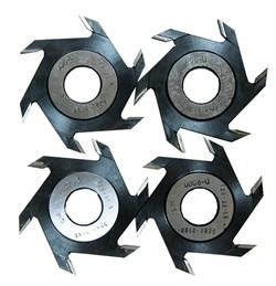 Комплект дисковых фрез ВК-15 - 6, 8, 10, 12 ммм
