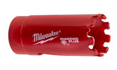 Коронка алмазная для керамогранита MILWAUKEE DIAMOND PLUS 22 мм