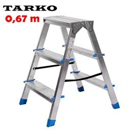Двухсторонняя 0,67 метра, лестница-стремянка TARKO