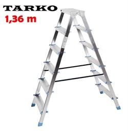 Двухсторонняя 1,36 метра, лестница-стремянка TARKO