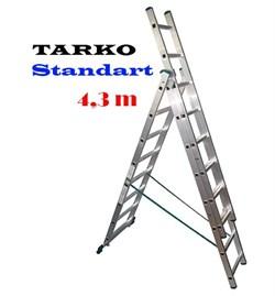 3-х секционная 4,30 метра, лестница-трансформер TARKO STANDART