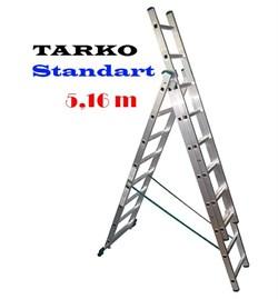 3-х секционная 5,16 метра, лестница-трансформер TARKO STANDART