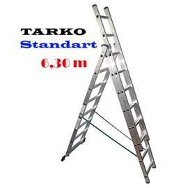 3-х секционная 6,30 метра, лестница-трансформер TARKO STANDART