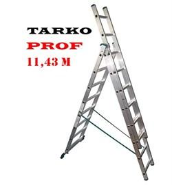 3-х секционная 11,43 метра, лестница-трансформер TARKO PROF