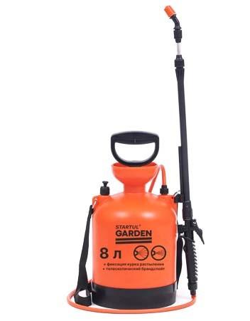 Опрыскиватель компрессионный 8 литра, STARTUL GARDEN