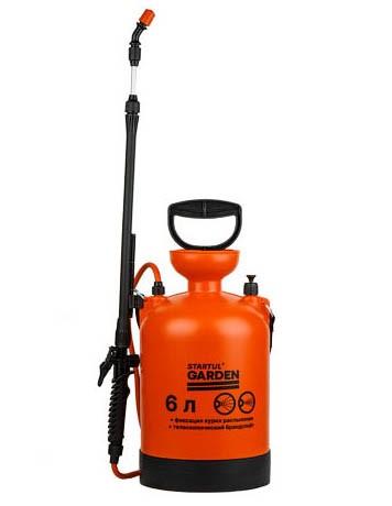 Опрыскиватель компрессионный 6 литров, STARTUL GARDEN