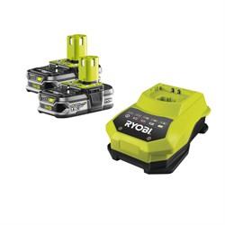 Аккумулятор Ryobi RB 18 L 15 х 2шт.  + зарядное устройство Ryobi BCL 14181 H