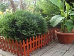 Садовый забор декоративный ГОТИКА