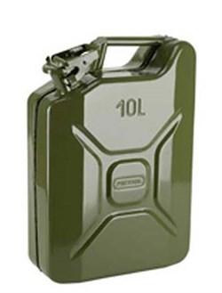 Канистра металлическая 10 литров для ГСМ