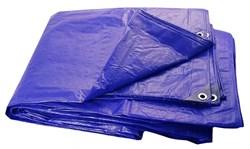 Тент защитный влагостойкий 8x12 метров, 50 г/м