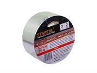 Лента алюминиевая клейкая 50 мм х 50 метров, Startul