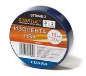 Изолента ПВХ 18 мм х 20 метров, синяя, Startul