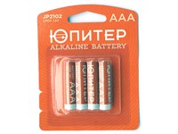 Батарейка AAA LR03 1,5V alkaline - 4 шт. ЮПИТЕР