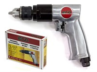 Пневмодрель с реверсом ECO ARD18-10 (10мм, 1800 об/мин, 255 л/мин)