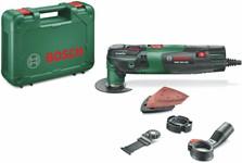 Многофункциональный инструмент (реноватор) BOSCH PMF 250 CES (250 Вт) в чем. + набор оснастки