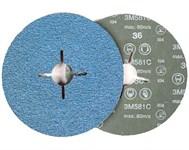 Фибровый шлифкруг 115х22 мм P60 3M 581С 3M