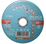 Круг отрезной 115х1.6x22.2 мм для металла Long Life LUGAABRASIV
