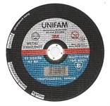Круг отрезной 115х1.0x22.2 мм для металла UNIFAM 3M