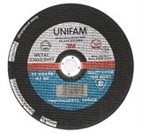 Круг отрезной 115х1.5x22.2 мм для металла UNIFAM 3M